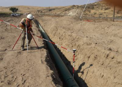 Alignment Mapping for the Carty Lateral Pipeline Project