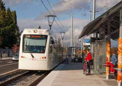 Portland-Milwaukie Light Rail Transit East Segment