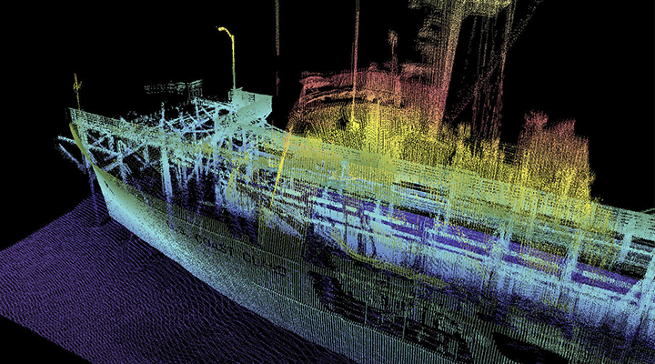 Mobile Vessel Laser Scanning