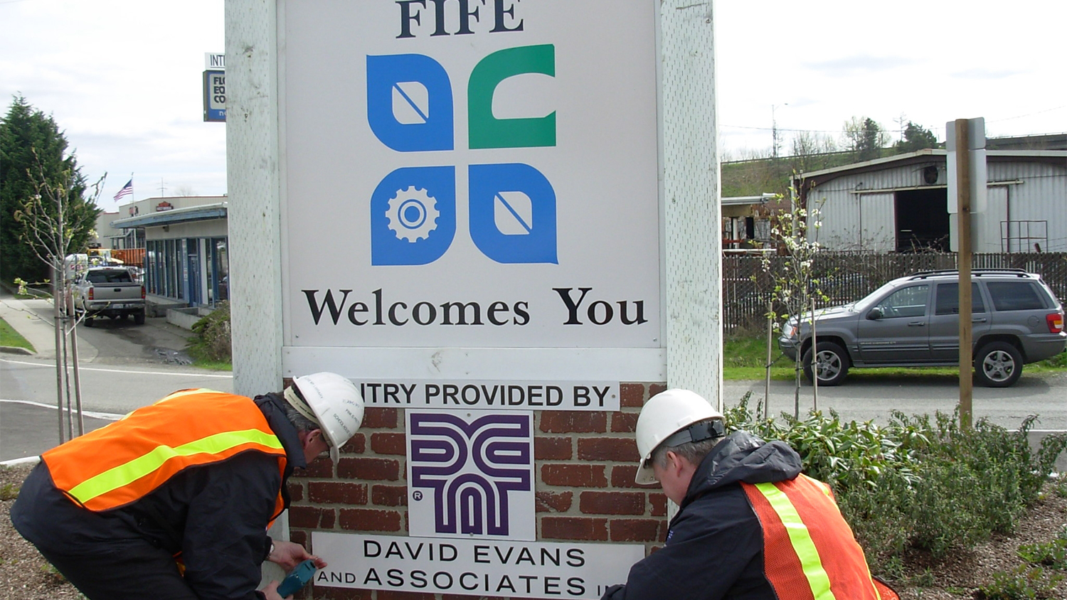 New Fife entrance