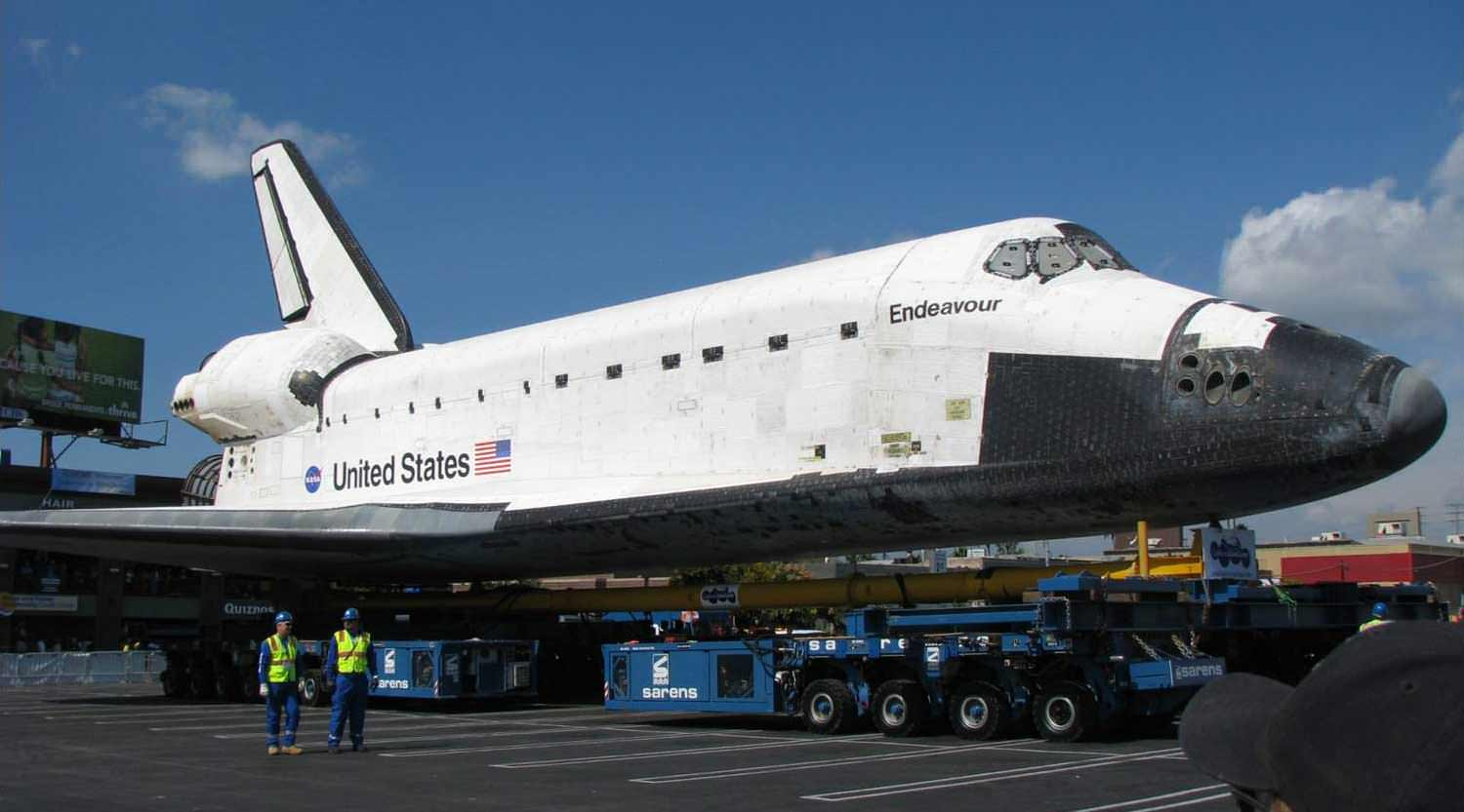 where is endeavour space shuttle right now - photo #6