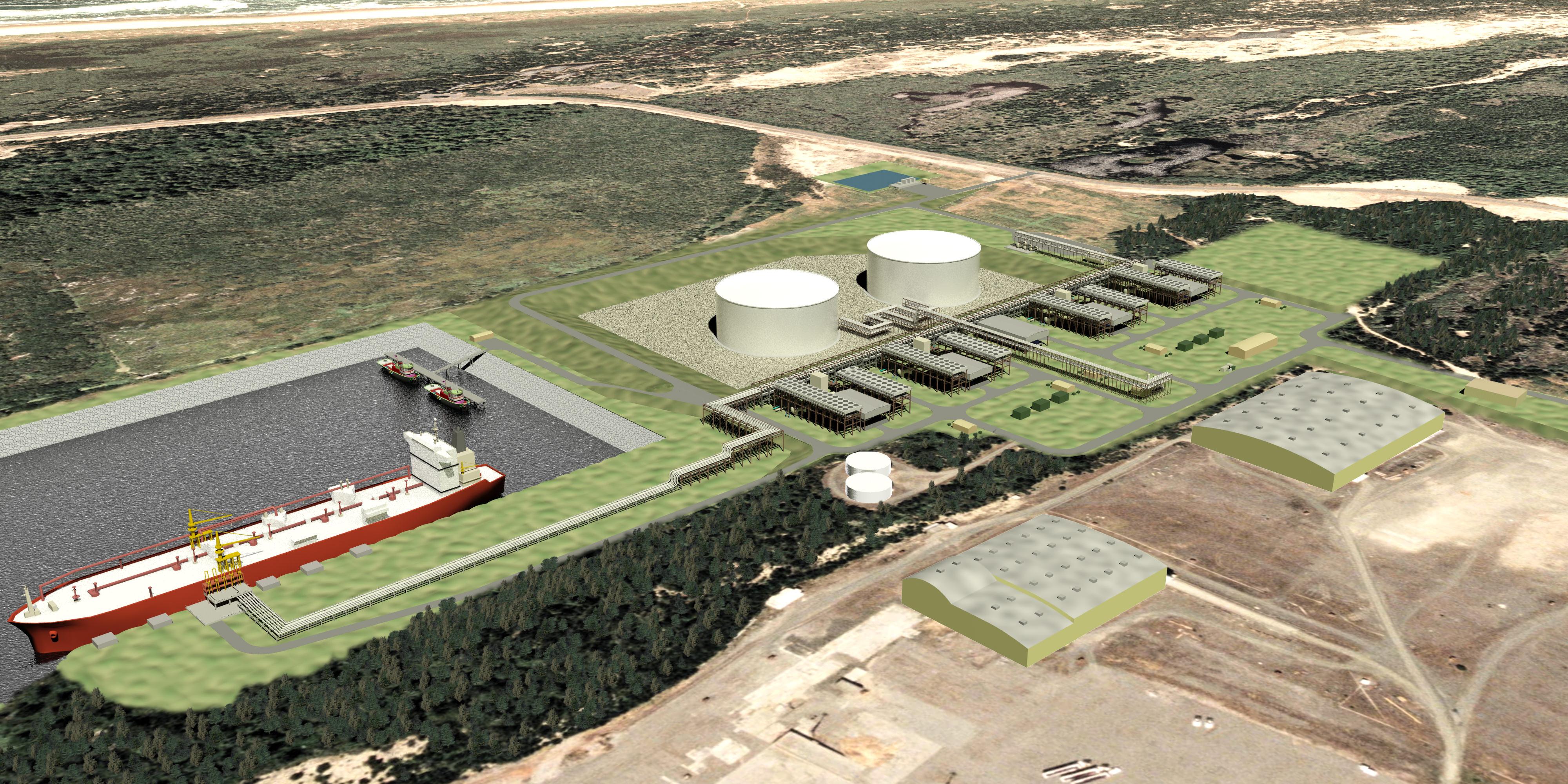 Jordan Cove LNG Terminal
