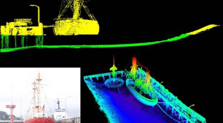 Mobile Vessel Laser Scanning