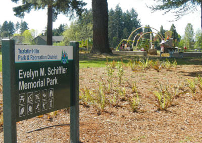 Evelyn M. Schiffler Memorial Park Renovation
