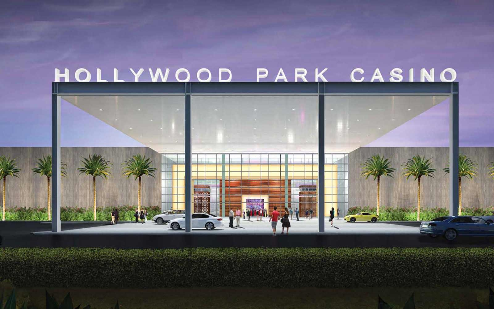 Hollywood Park Casino Rendering