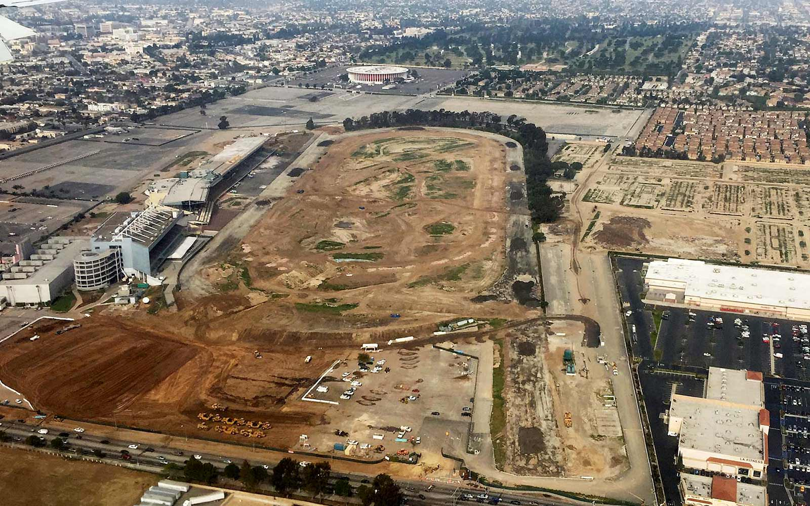 Hollywood Park Demolition