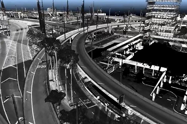 Los Angeles International Airport (LAX) 3D Laser Scanning Survey