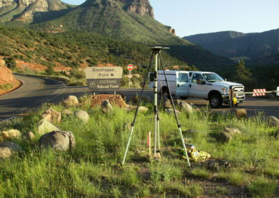 SR 89A, Pumphouse Wash to Overlook Topographic Survey