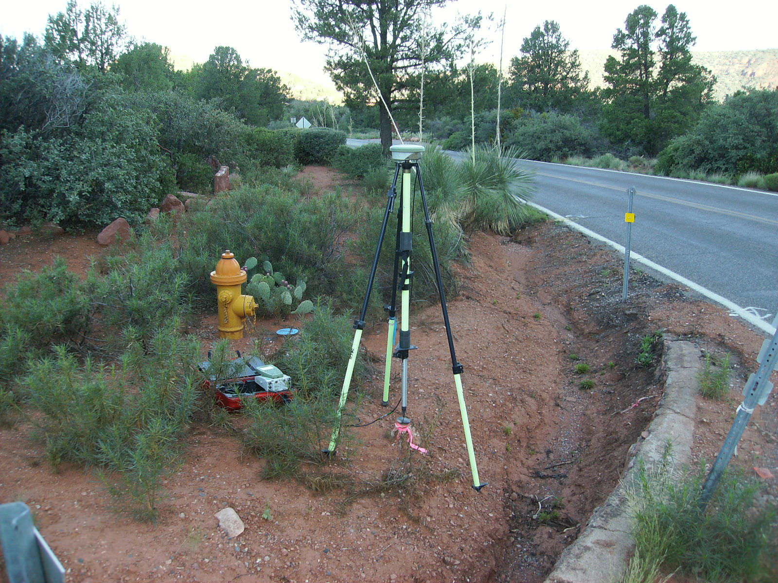 State Route 89A Topo Survey