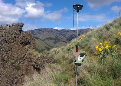 4-0 Ranch Boundary Survey