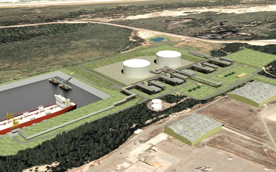 Jordan Cove Liquified Natural Gas (LNG) Terminal