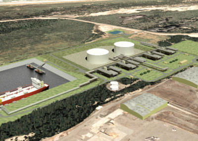 Jordan Cove Liquified Natural Gas (LNG) Terminal