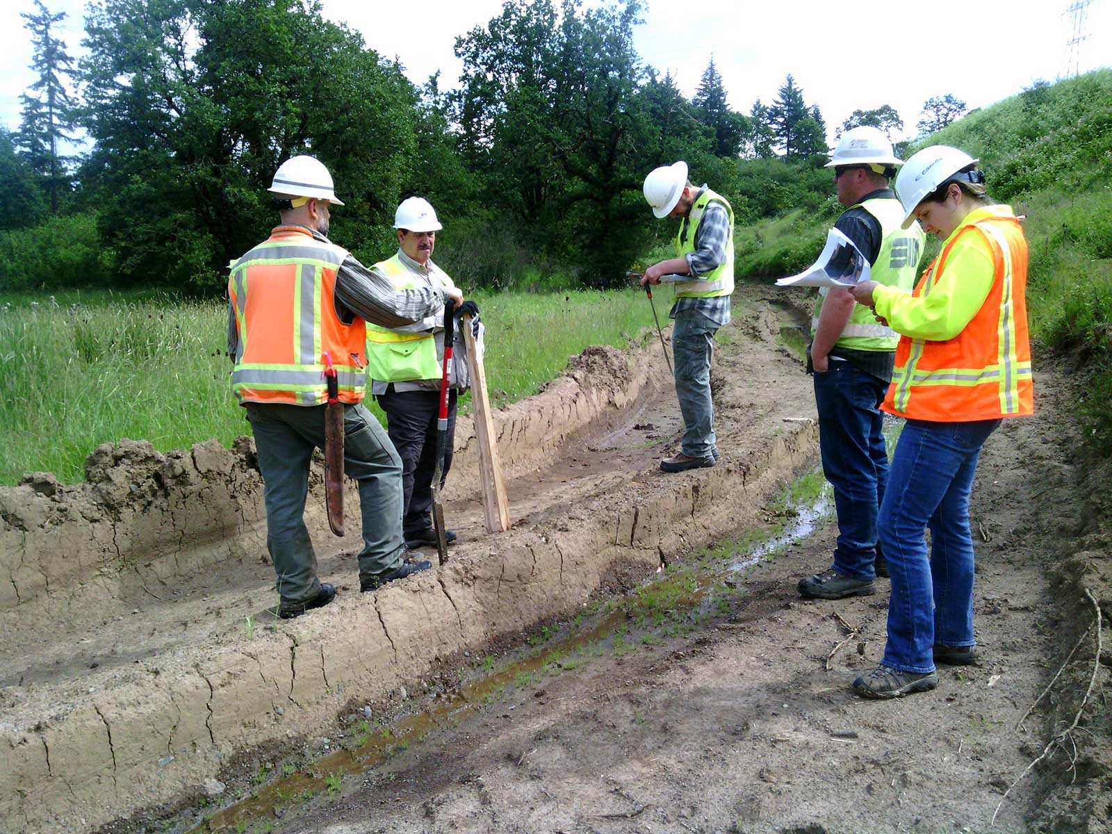 Willamette Water Supply Workers