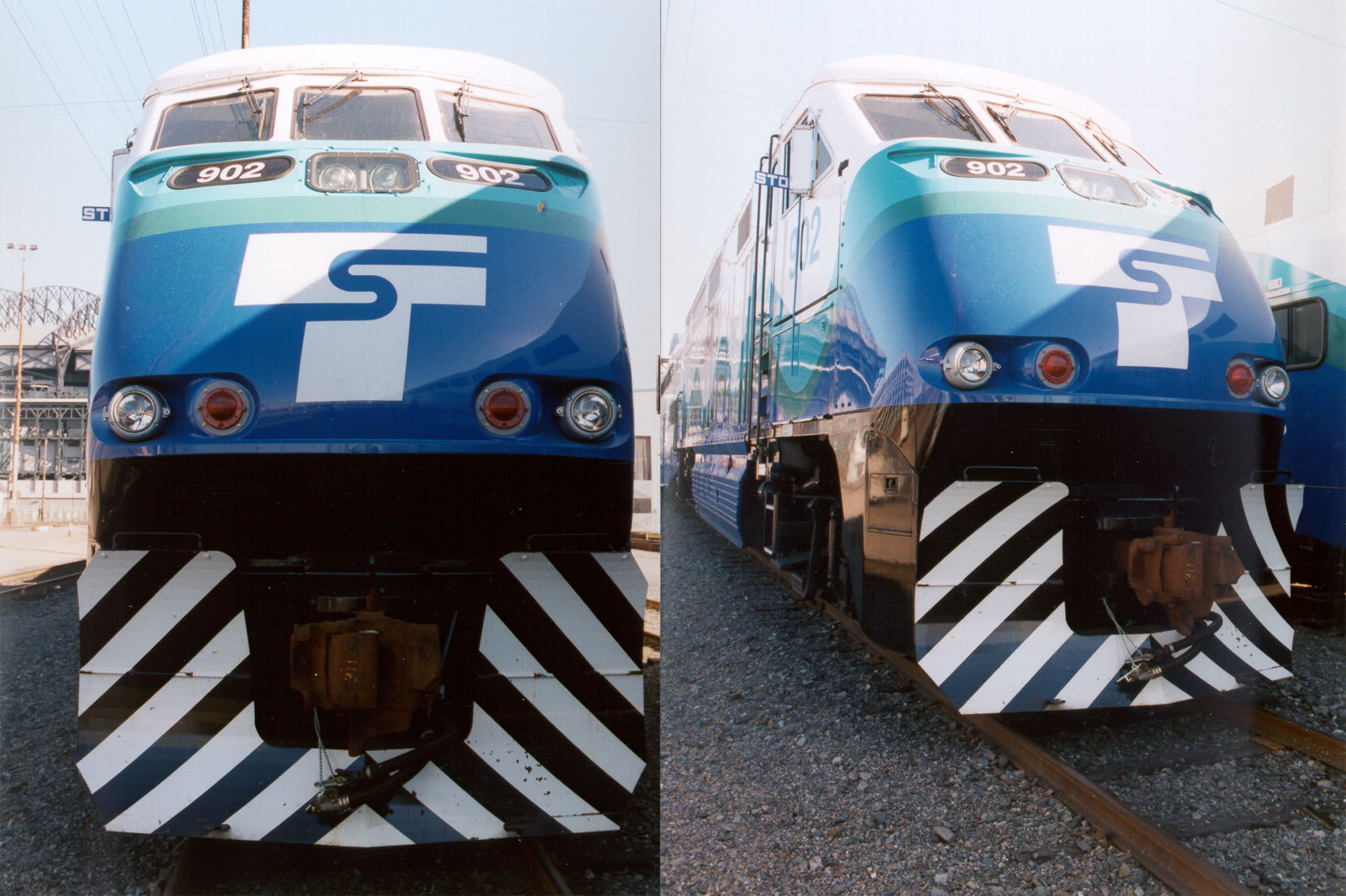 Tacoma Trestle Commuter Rail Photo