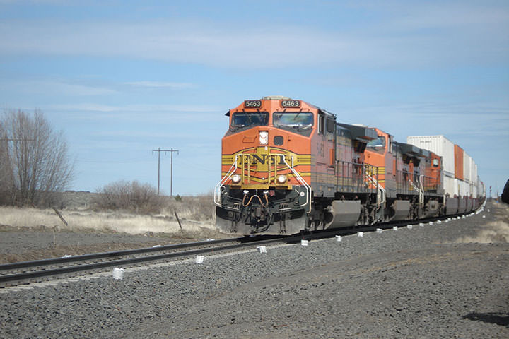 BNSF Tokio to Ritzville Double Track