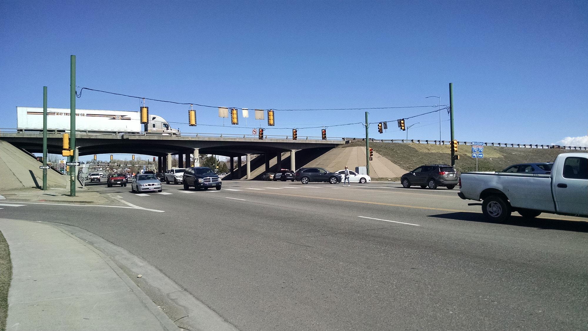 I-70 Kipling Interchange 1