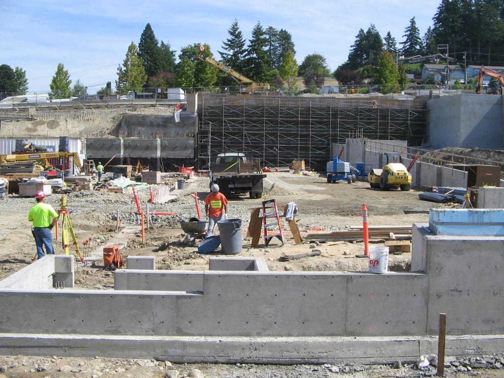Good Samaritan Hospital Construction on-site