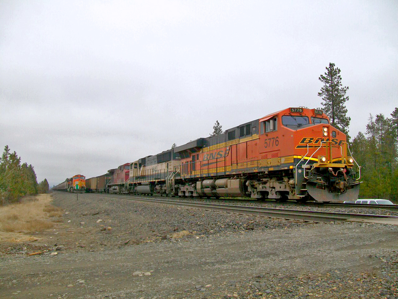 Algoma to Cocolalla train