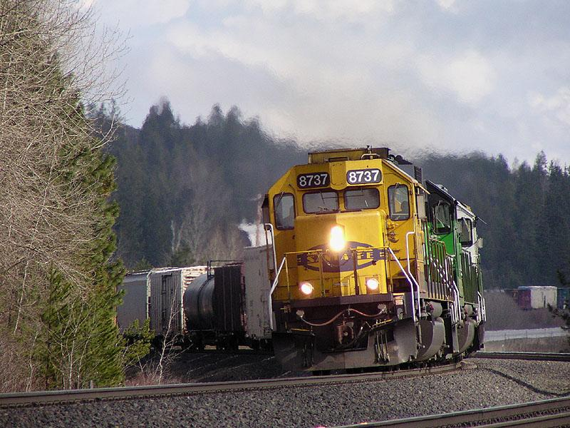 Algoma to Cocolalla Double Track