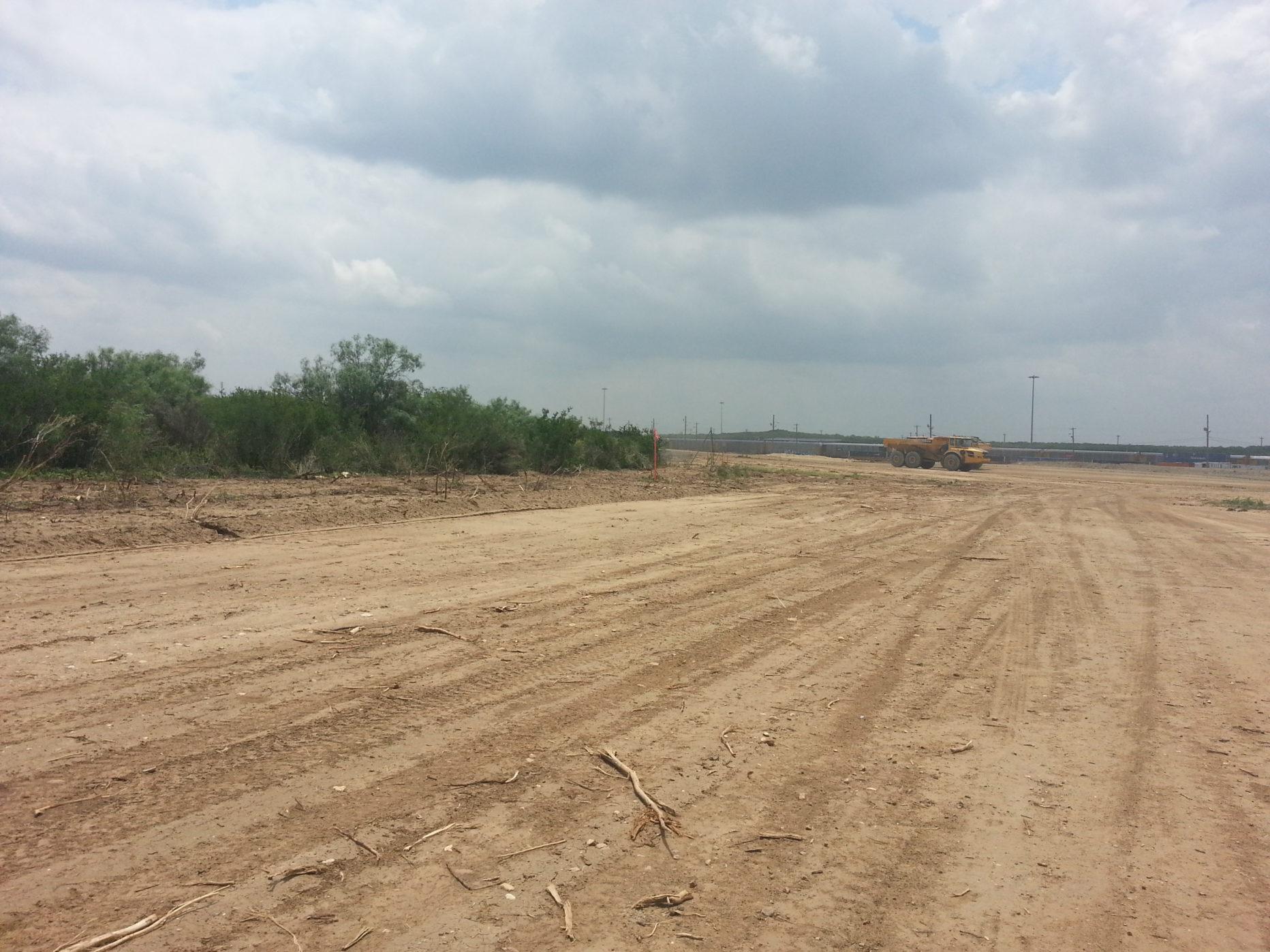 Port Laredo Intermodal Expansion Construction Site