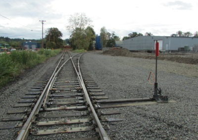 Port of Chehalis Rail Spur