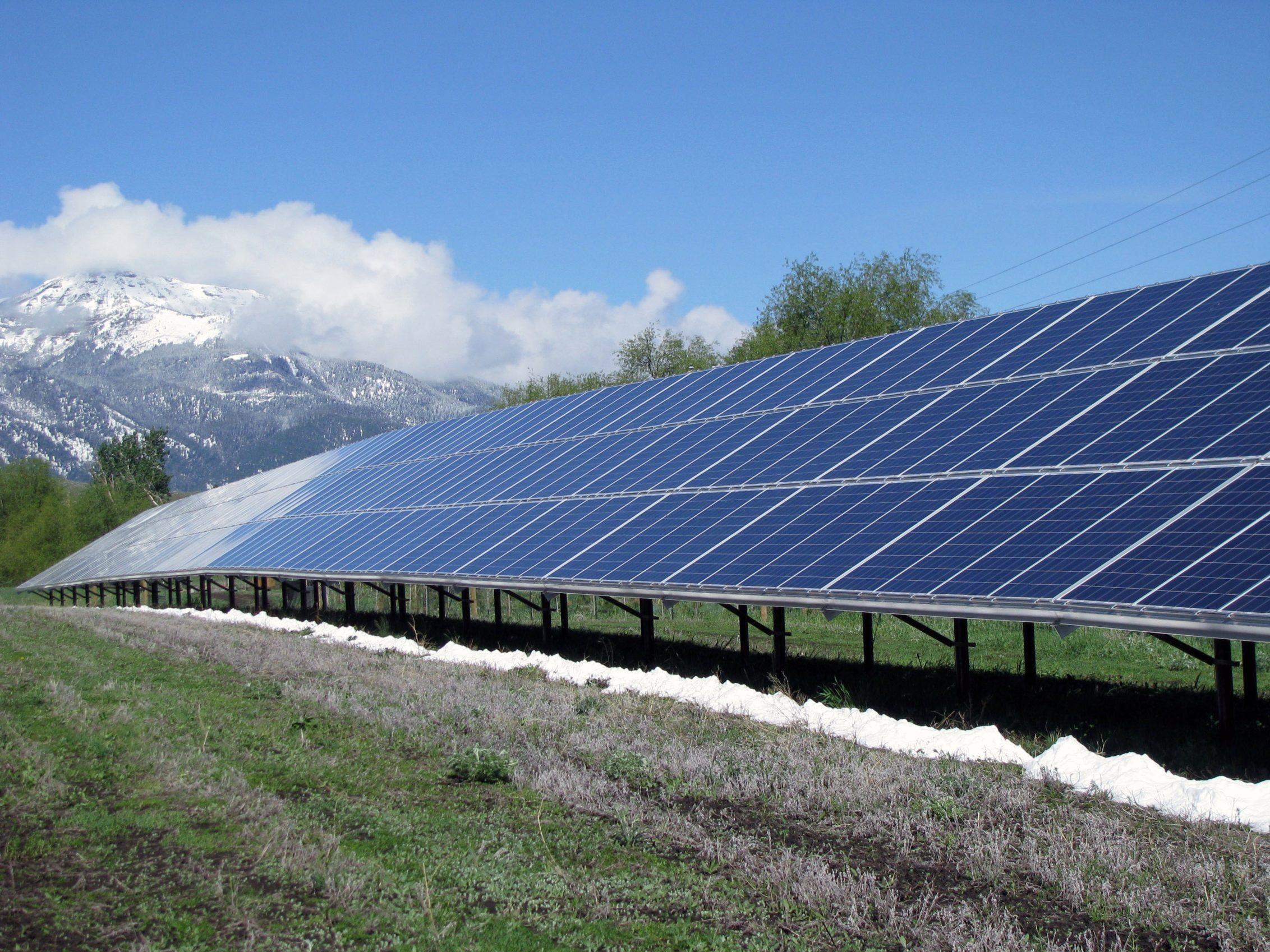 Joseph Community Solar array