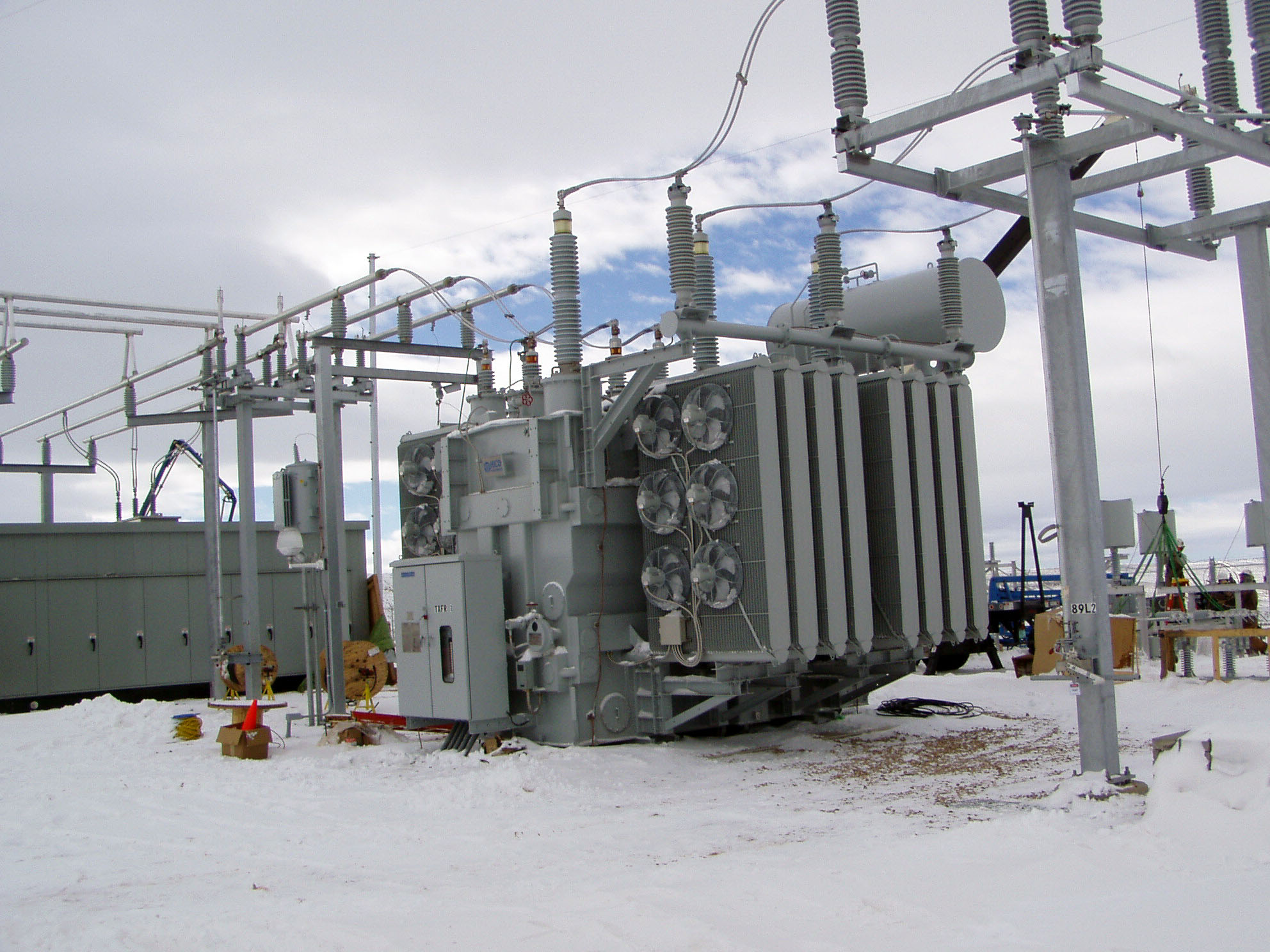 Hinshaw Substation 1