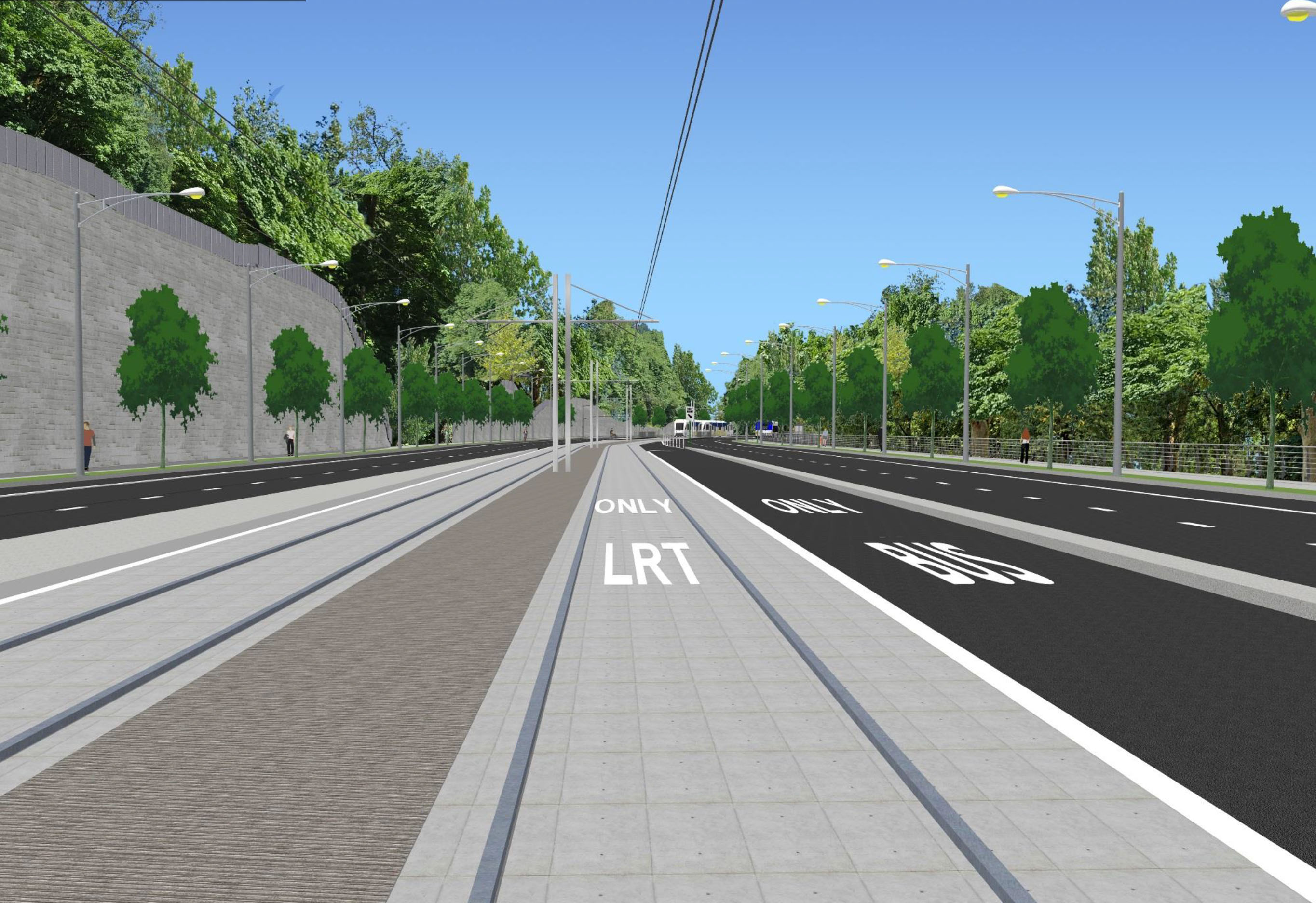 Southwest Corridor Light Rail Project Draft EIS