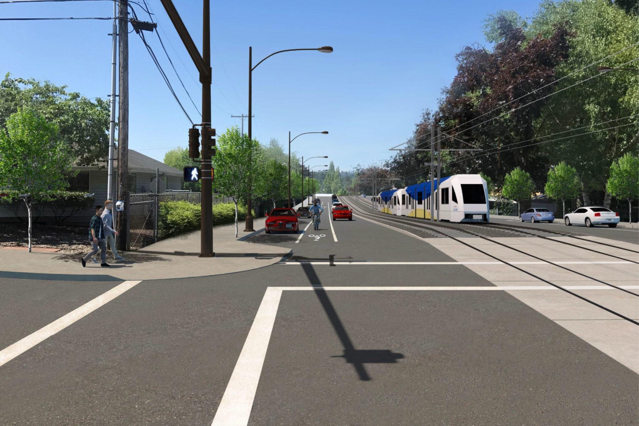 Southwest Corridor Light Rail Project Draft EIS