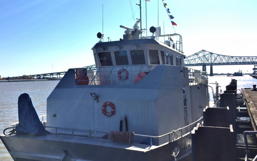 Lower Mississippi River Precision Navigation Surveys