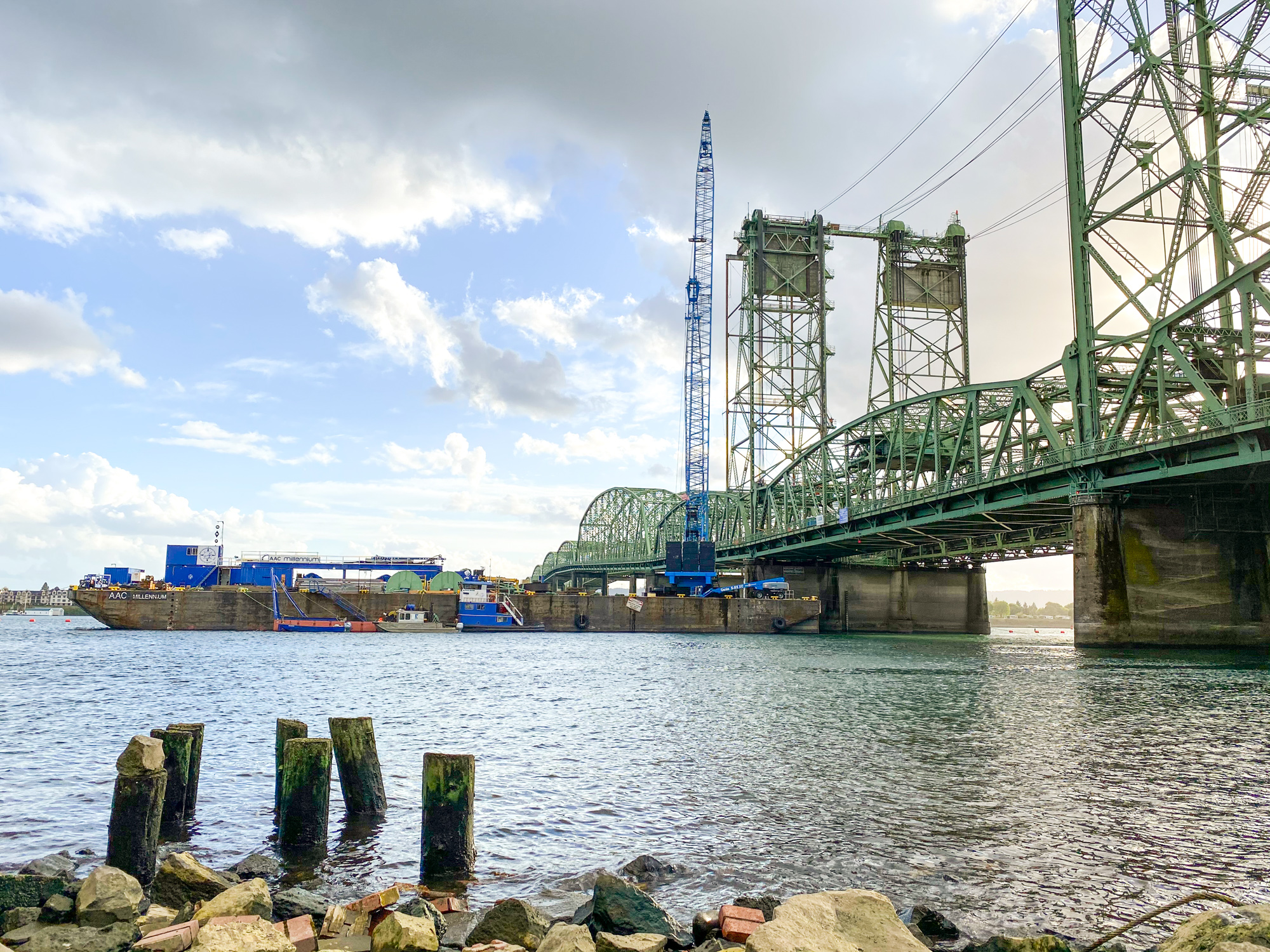 I-5 Interstate Bridge Trunnion Replacement