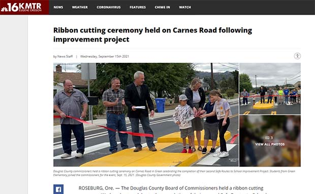 Banner Image for Carnes Road Ribbon Cutting
